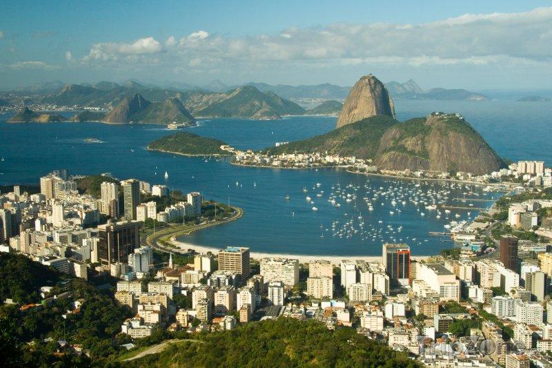 Fotka, Foto Brazilská metropole Rio de Janeiro (Brazílie)
