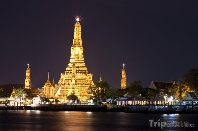 Fotka, Foto Budhistický chrám Wat Arun (Bangkok, Thajsko)
