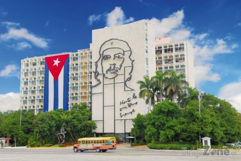 Fotka, Foto Budova Ministerstva vnitra (Havana, Kuba)