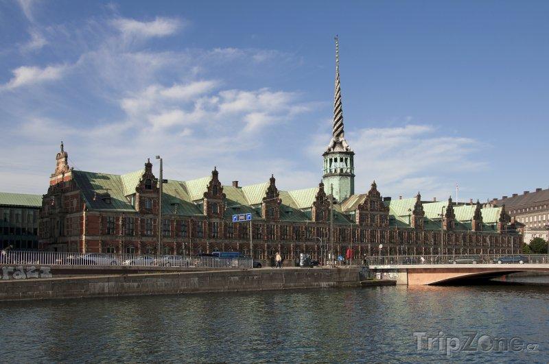Fotka, Foto Burzovní palác Borsen (Kodaň, Dánsko)