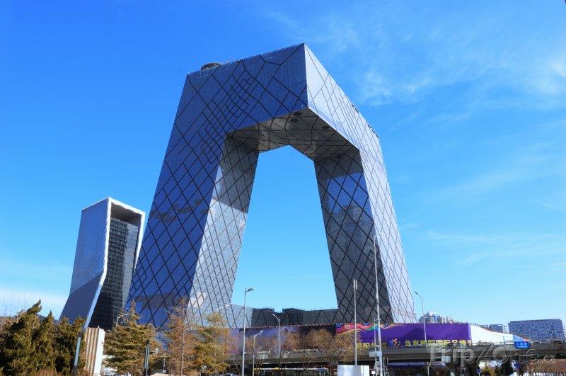 Fotka, Foto CCTV Tower v Pekingu (Peking, Čína)