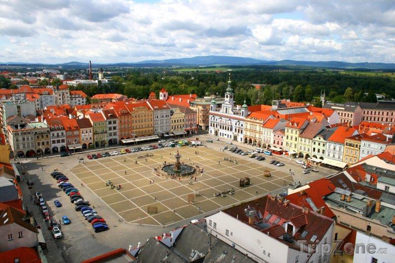 Fotka, Foto České Budějovice, náměstí Přemysla Otakara II. (Česká republika)