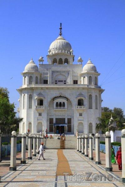 Fotka, Foto Chrám Gurdwara Rakab Ganj Sahib (Nové Dillí, Indie)