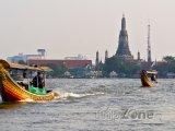 Chrám Wat Arun na řece Chao Phraya