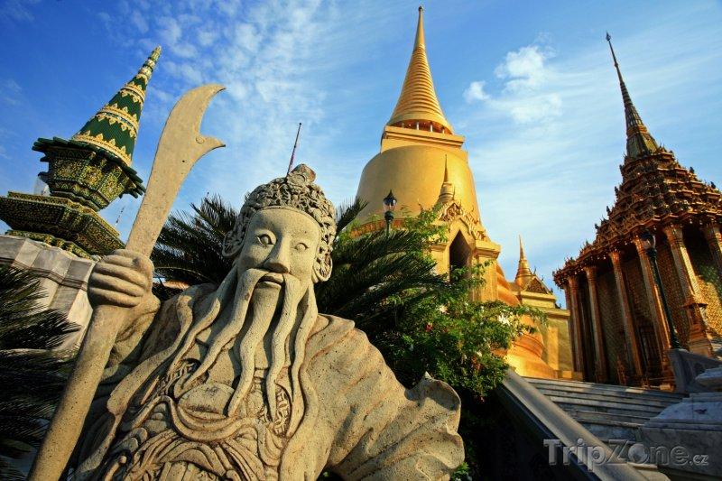 Fotka, Foto Chrám Wat Phra Kaew (Bangkok, Thajsko)