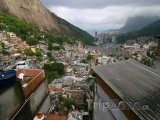 Chudinská čtvrť Rocinha