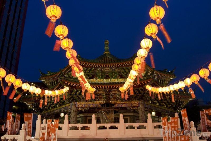 Fotka, Foto Čínská čtvrť v Jokohamě (Jokohama, Japonsko)