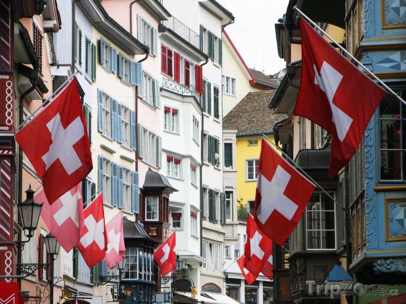 Fotka, Foto Curych - historické centrum (Švýcarsko)
