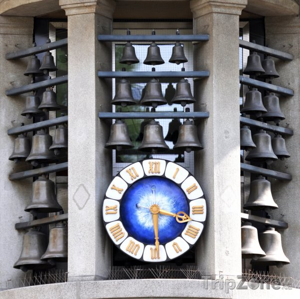 Fotka, Foto Curych - zvony na Bahnhofstrasse (Švýcarsko)