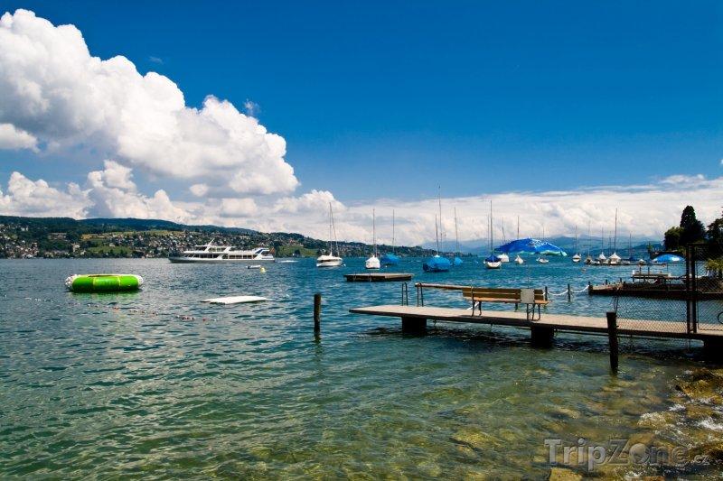 Fotka, Foto Curyšské jezero (Švýcarsko)