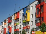 Domky v Tiraně