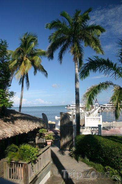 Fotka, Foto Domy na pláži v Belize City (Belize)