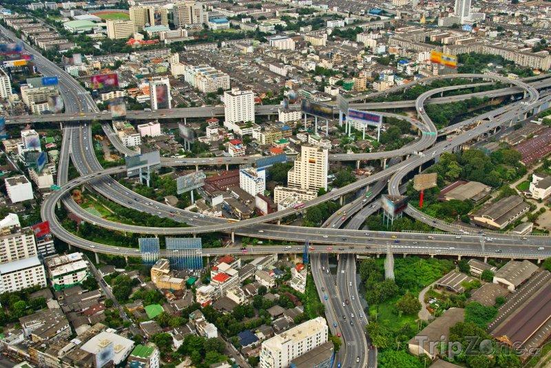 Fotka, Foto Dopravní uzel v Bangkoku (Bangkok, Thajsko)