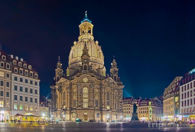 Fotka, Foto Drážďany - Frauenkirche (Německo)