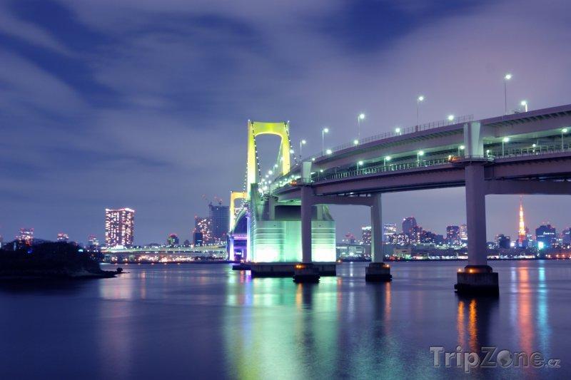 Fotka, Foto Duhový most v Tokiu (Tokio, Japonsko)