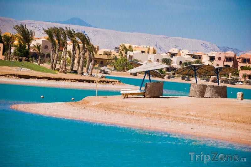 Fotka, Foto El Gouna, pobřeží a hotely (Východní pobřeží, Egypt)