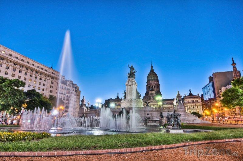 Fotka, Foto Fontána na Kongresovém náměstí (Buenos Aires, Argentina)