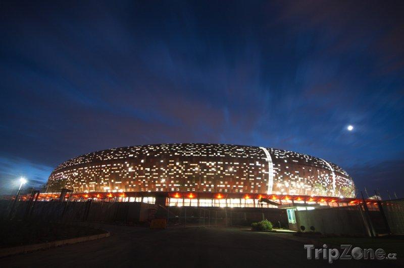 Fotka, Foto Fotbalový stadion Soccer City (Johannesburg, Jihoafrická republika)