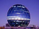 Futuristická administrativní budova