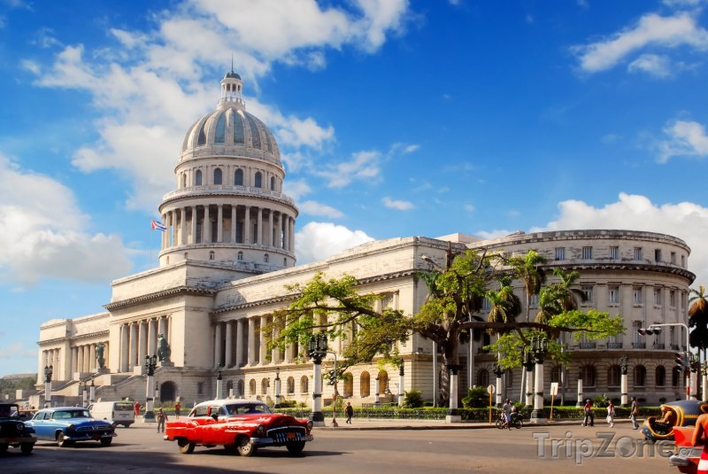Fotka, Foto Havana, El Capitolio - sídlo Akademie věd (Kuba)