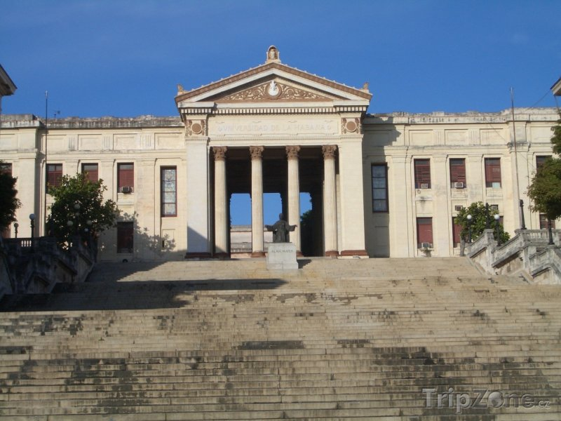Fotka, Foto Havanská univerzita (Havana, Kuba)