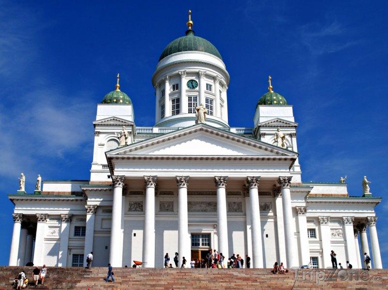 Fotka, Foto Helsinská katedrála (Helsinky, Finsko)