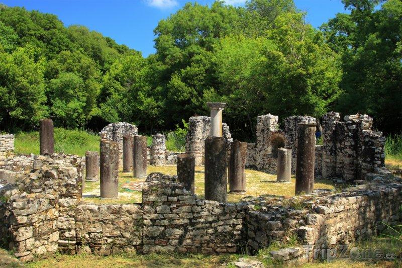 Fotka, Foto Historická oblast Butrint (Albánie)