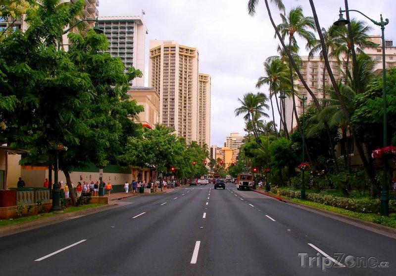Fotka, Foto Hlavní třída (Honolulu, USA)