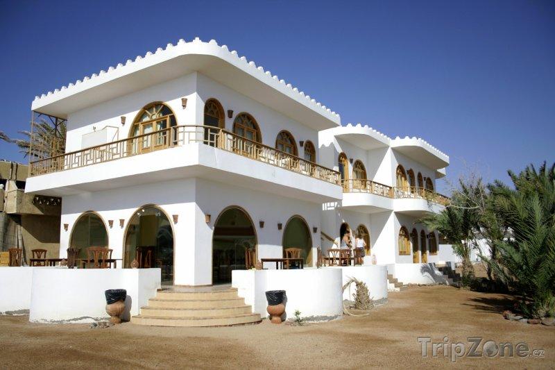 Fotka, Foto Hotel v rezortu Dahab (Sinaj, Egypt)