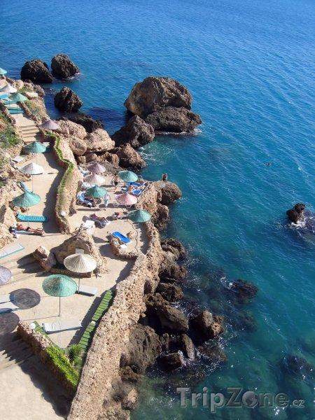 Fotka, Foto Hotelová terasa přímo na pobřeží (Antalya, Turecko)