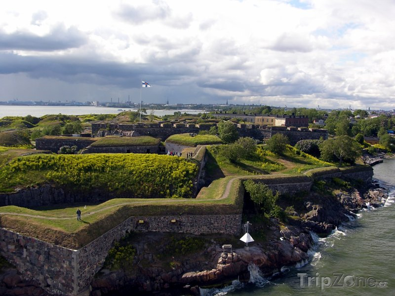 Fotka, Foto Hradby pevnosti Suomenlinna (Helsinky, Finsko)