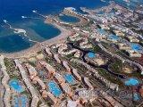 Hurghada z ptačí perspektivy
