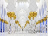 Interiér mešity Sheikh Zayed
