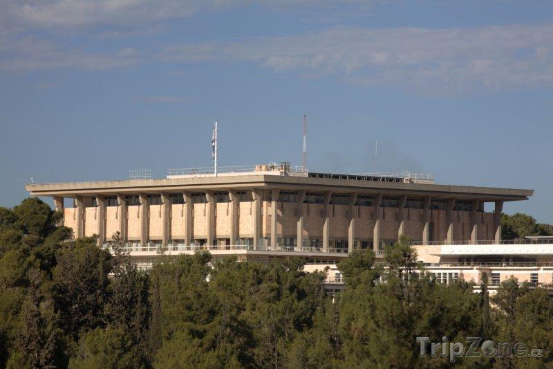 Fotka, Foto Jeruzalém - budova parlamentu (Izrael)