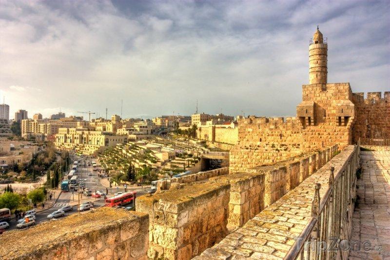 Fotka, Foto Jeruzalém, citadela krále Davida (Izrael)