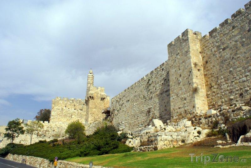 Fotka, Foto Jeruzalém - Davidova věž (Izrael)