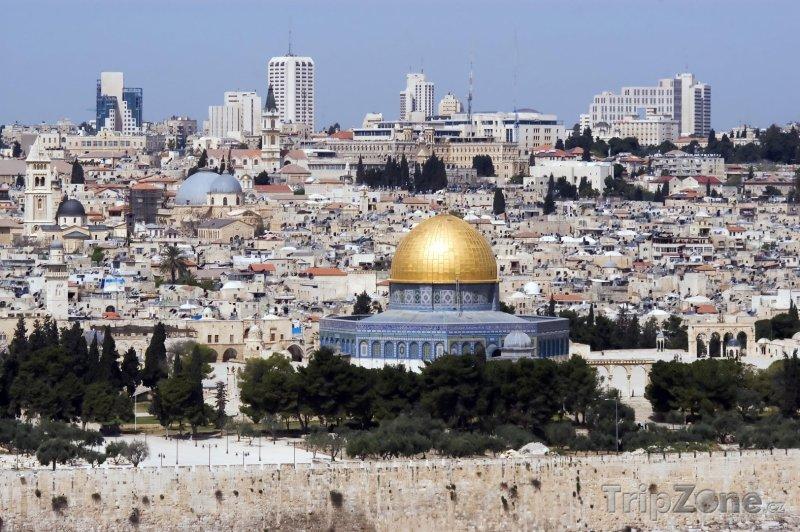 Fotka, Foto Jeruzalém - pohled na město (Izrael)