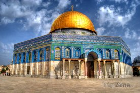 Jeruzalém - Skalní dóm na Chrámové hoře