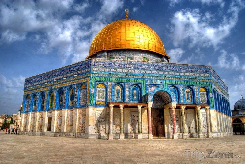 Fotka, Foto Jeruzalém - Skalní dóm na Chrámové hoře (Izrael)