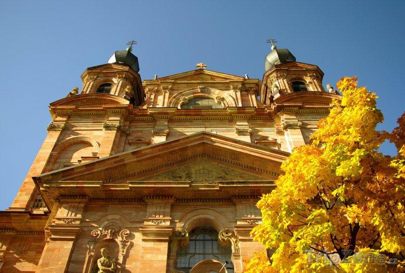 Fotka, Foto Jezuitský kostel v Mannheimu (Bádensko-Württembersko, Německo)