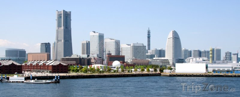 Fotka, Foto Jokohama - panorama města (Jokohama, Japonsko)