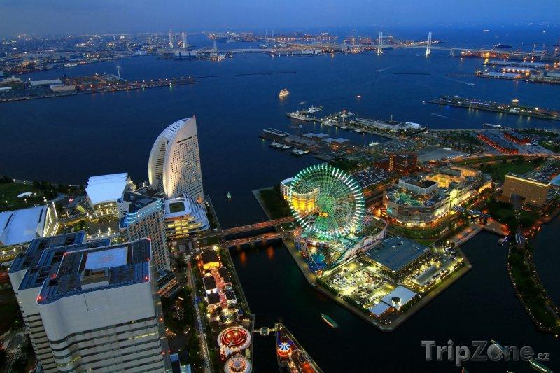 Fotka, Foto Jokohama - pohled shora (Jokohama, Japonsko)