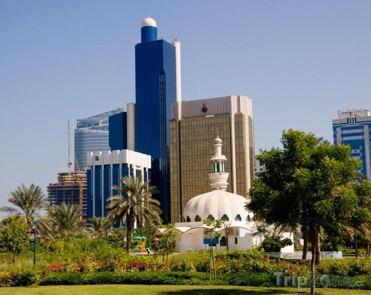 Fotka, Foto Kancelářské budovy (Abú Dhabí, Spojené arabské emiráty)