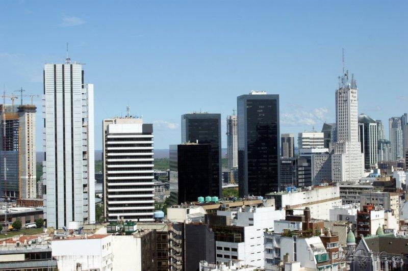 Fotka, Foto Kancelářské mrakodrapy (Buenos Aires, Argentina)