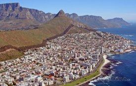 Kapské město, pobřeží