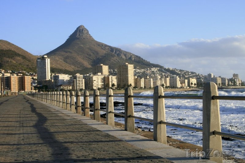 Fotka, Foto Kapské město - pobřežní promenáda (Kapské město, Jihoafrická republika)