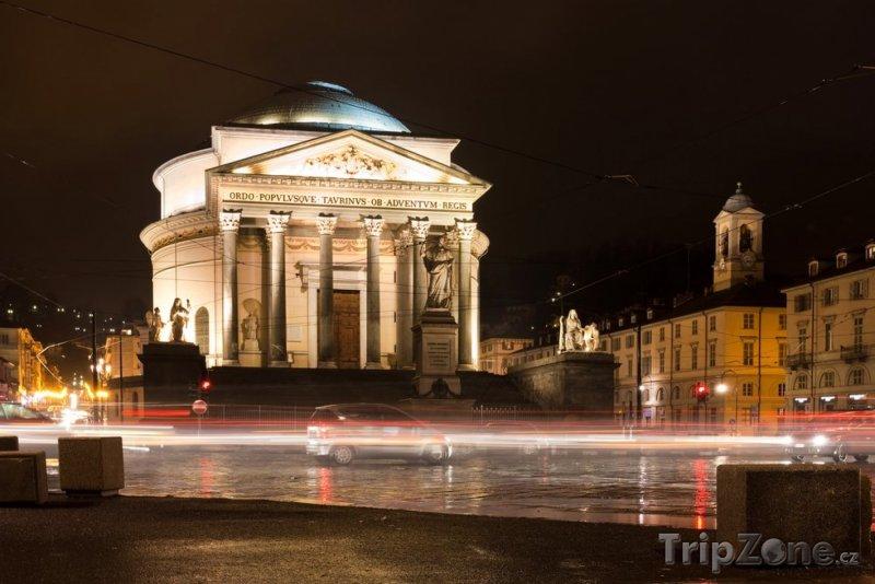 Fotka, Foto Katedrála Gran Madre di Dio (Turín, Itálie)