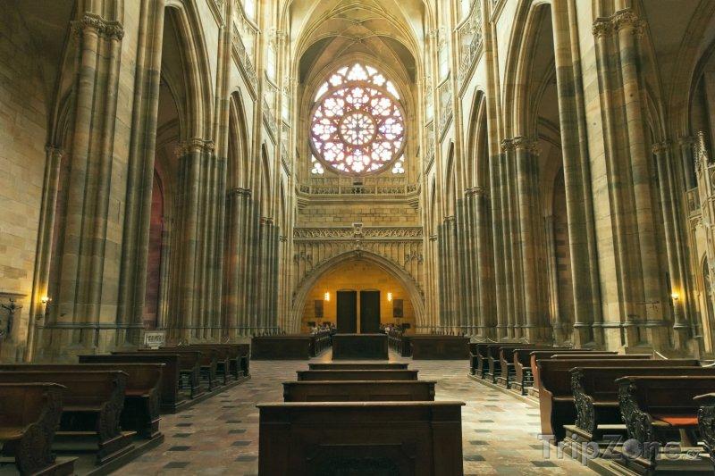 Fotka, Foto Katedrála svatého Víta na Pražském hradě (Praha, Česká republika)