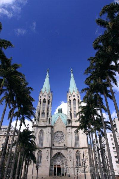 Fotka, Foto Katedrála v Sao Paulu (Brazílie)