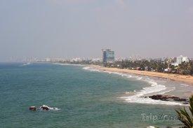 Kolombo, pohled na pobřeží